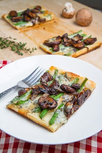 Green Bean and Mushroom Tart with caramelized onions. Lunch, dinner, or maybe even a romantic picnic...