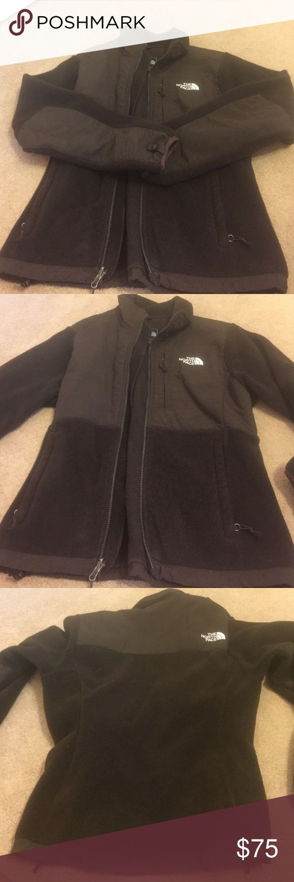 Women's North Face jacket Brown North Face zip up jacket. Women's small. The North Face Jackets & Coats