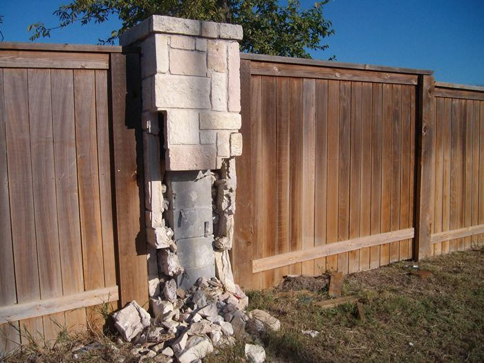 14 best MASONRY FENCE images on Pinterest | Brick fence ...