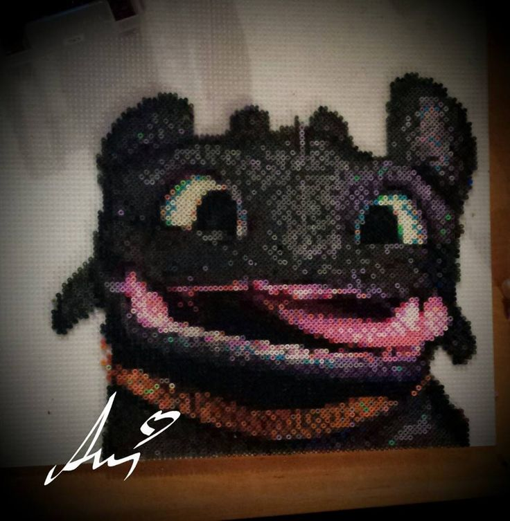 Toothless by Awi #How_To_Train_Your_Dragon #Night_Fury