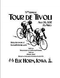 2017 Tour de Tivoli Bike Ride Registration - 26 Mile Ride