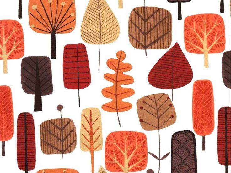 Finland Autumn Wide Width Fabric