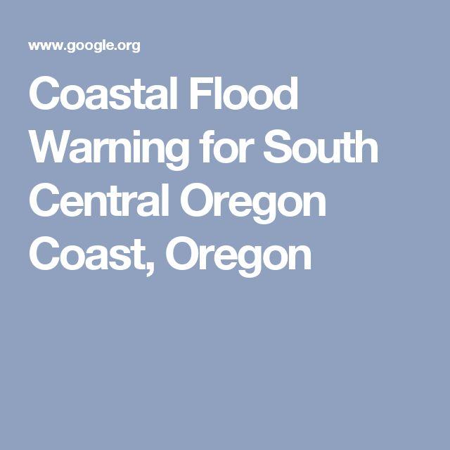 Coastal Flood Warning for South Central Oregon Coast, Oregon