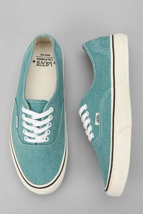 6dc5f6ee26c82f Urban Outfitters - Vans California Washed Canvas Authentic Sneaker on Wanelo
