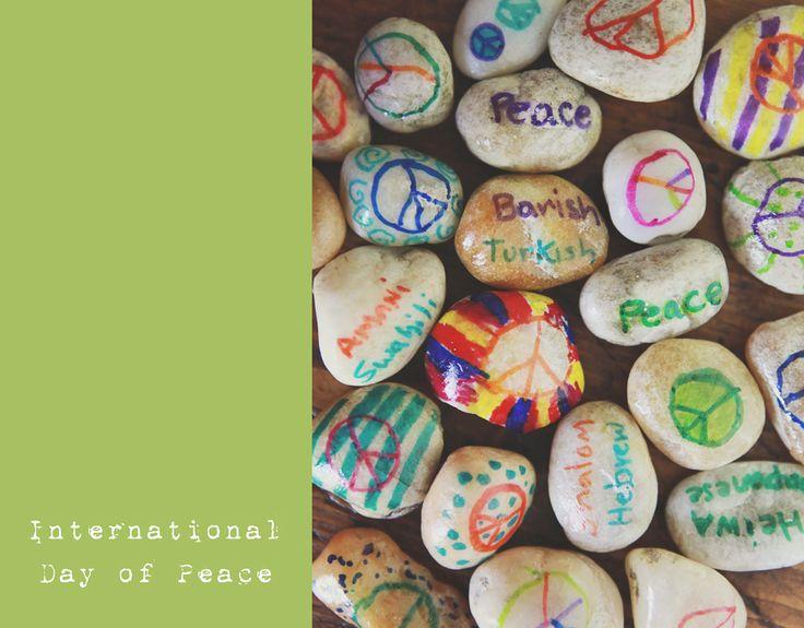 Ramblings From Utopia: International Day of Peace ...Rocks!