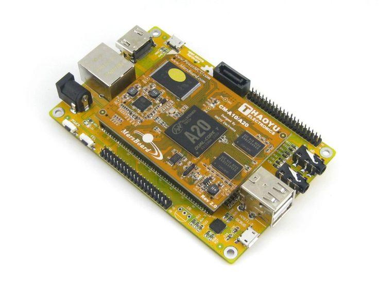 Mars MarsBoard A20 Lite  Allwinner A20 ARM Cortex A7 Dual core Mali-400 GPU Development Board Kit #Affiliate