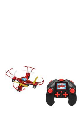 World Tech Toys Marvel Licensed Iron Man 2.4Ghz 4.5Ch Micro Rc Drone - Red - No Size