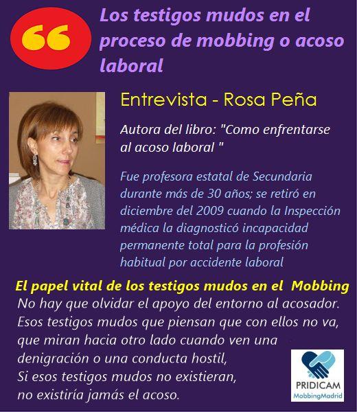 Mobbing Madrid PRIDICAM: El papel vital de los testigos mudos en el proceso...