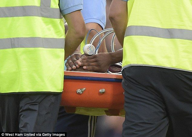 West Ham striker Enner Valencia out for up to 12 weeks with knee and ankle ligament injury as club refuse to rule out surgery