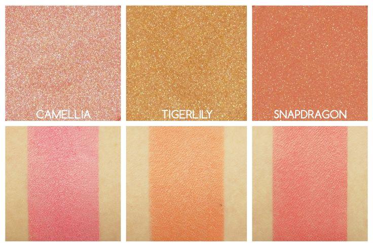 Becca Shimmering Skin Perfector Luminous Blush Swatches