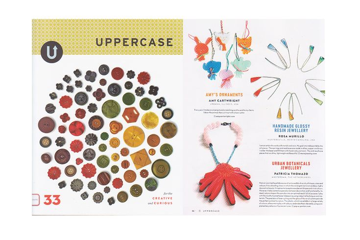 featured in the Uppercase magazine 33!