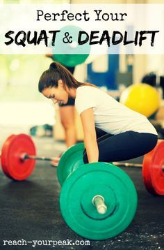 How To Squat And Deadlift With Correct Form