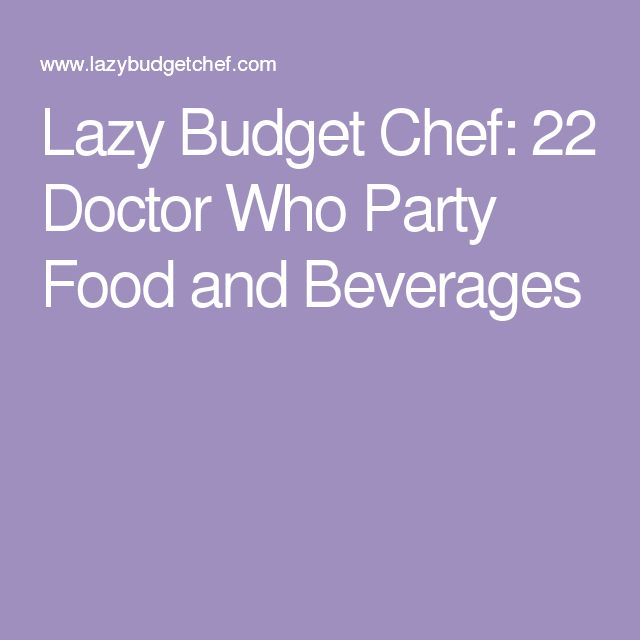 17 Best Ideas About Budget Party Food On Pinterest