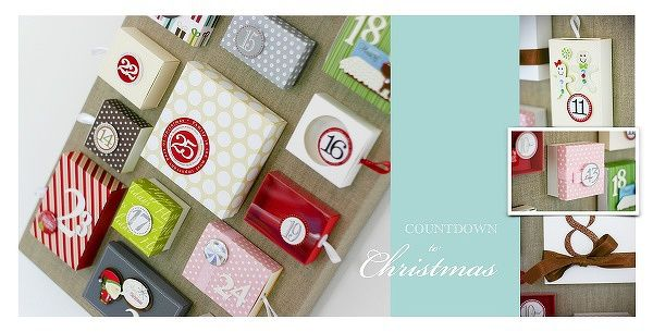 Seasonal Layouts : Countdown Christams - Two Peas in a Bucket