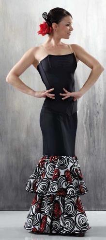 Flamenco Dress : Corset + Flamenco Skirt