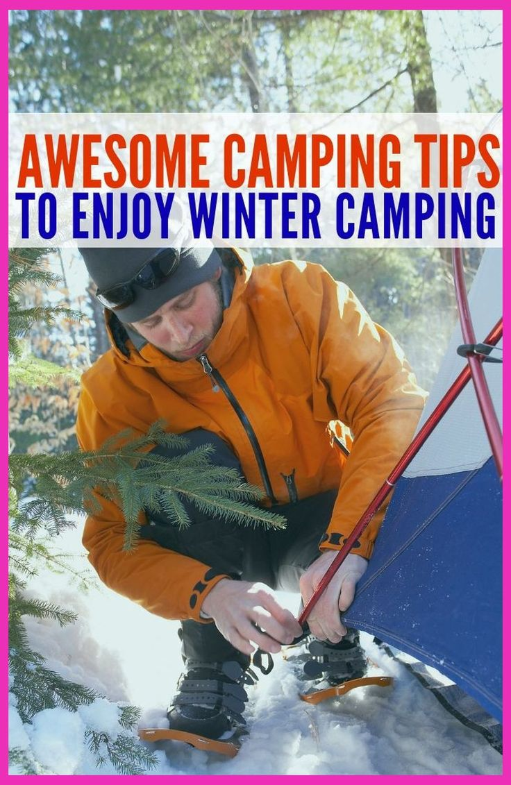 Winter Camping Essentials | Awesome Winter Camping Tent ...