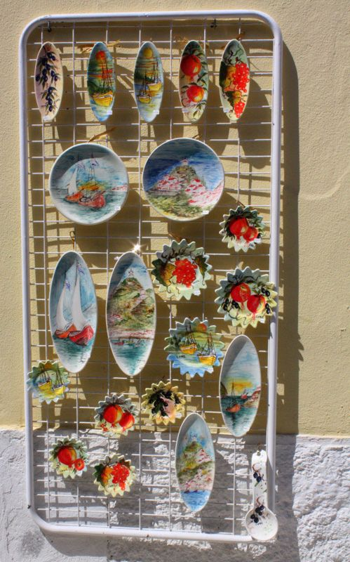 hand made souvenir from samos island.