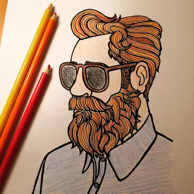13 best No.1 Beard Colouring Book images on Pinterest | Coloring ...