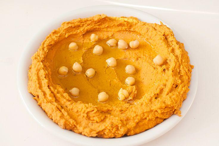vegansk hjemmelaget hummus oppskrift