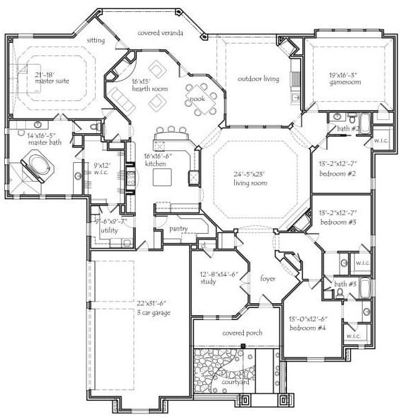 262 best barndominium floor plans images on pinterest for 40x50 floor plans