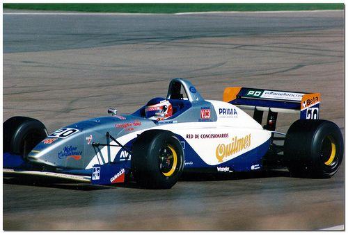 Gastón Mazzacane - Lola T96/50 Zytek Judd KV - Auto Sport Racing - Autosport International Trophy - 1996 International Formula 3000 Championship, round 5 - © Antsphoto