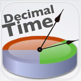A handy decimal time converter app. Made for iPhone.