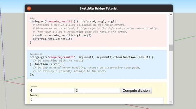 SketchUp Bridge Tutorial (3 0) is the newest extension