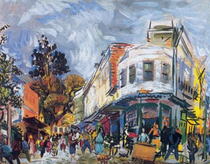 Bedri Rahmi Eyüboğlu (1911 – 1973) – Tophane