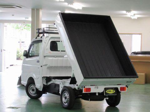 軽トラ キャリーダンプ トラック 荷台に塗装式ベッドライナーLINE-X