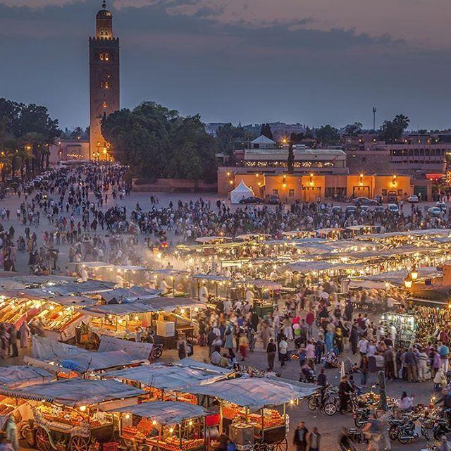 Marrakeshin basaareissa riittää iltaisin tunnelmaa 🌞💚#jokomennään #lähtökuopissa #marokko #marrakesh #matkakuume #travelfever #travelgram #africa #explorelife #kilroyfinland by kilroyfinland. matkakuume #jokomennään #travelgram #marrakesh #kilroyfinland #lähtökuopissa #marokko #africa #travelfever #explorelife #micefx [Follow us on Twitter (@MICEFXSolutions) for more...]