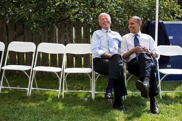 "jack Verified account ‏@jack  ⚡️ ""Imagined conversations between Barack Obama and Joe Biden"""