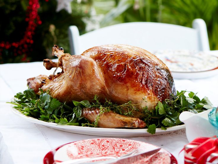 Succulent juicy turkey with a mouthwatering apricot and almond stuffing. The perfect dish for Christmas lunch!