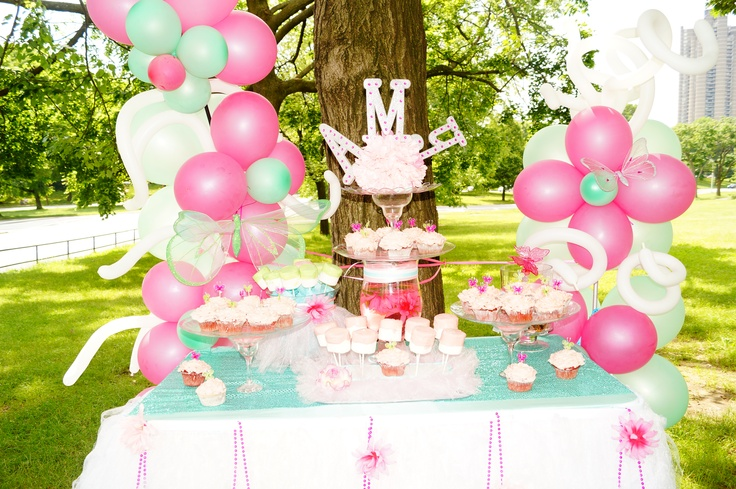 fairy princess birthday for my 4 year old