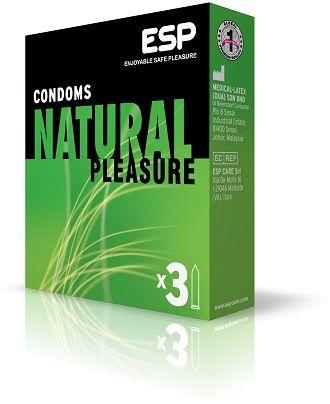 Natural Pleasure: Προφυλακτικά σχεδιασμένα για την εμπειρία της συναισθηματικής δύναμης, μιας αληθινής σεξουαλικής οικειότητας που προέρχεται από την αίσθηση της προστασίας.