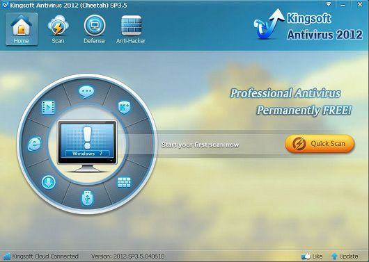 Kingsoft Antivirus  2012 SP5.7