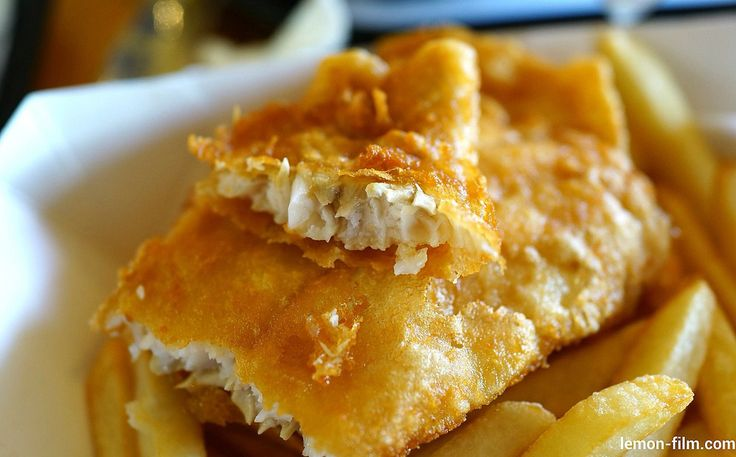 Baked Fish and Chips - Have a craving for fish and chips? Take a chance on this deliciously healthy version of the much-adored British staple. Crispy potatoes coated in olive oil and cayenne pepper, and baked until desired crispiness is reached. The baked fish is coated in a mixture of egg whites and a crispy rice cereal and then baked in the oven to a healthy perfection.