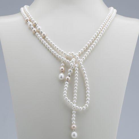 #Bijuterii cu perle Colier din perle C555