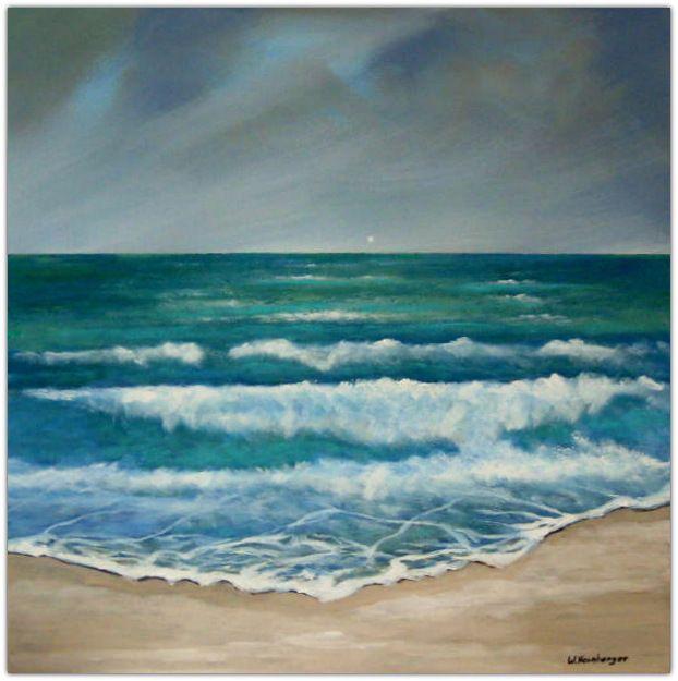 Acryl/Leinwand 50 cm x 50 cm x 1,5 cm Preis über PN Urlaubsfeeling