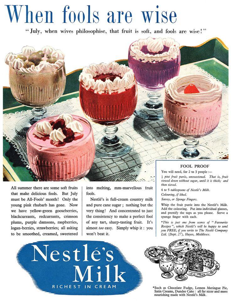1954 Nestlé's Milk ad   Flickr - Photo Sharing!