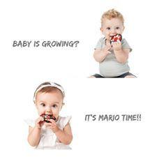 New Mario Themed Teethers can now be found at CRAVINGS!!!! #maternity #baby #kids #yxe #yxemoms #yxebaby #yxekids #saskatoon #shoplocal #shoplocalyxe #shopcravings #cravingsmbk #mario #itsmariotime #mushroomhead