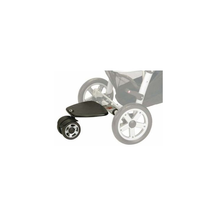 Jane Surfer Board  Description: The Jané Surfer has been specially designed to adapt to your Jané pushchair, ensuring a much simpler, quicker and safer assembly than any other platform. Technical characteristics: suspension, wheels with ball bearings, base made from ultra-resistant plastic and aluminium, and a s...   http://simplybaby.org.uk/jane-surfer-board/