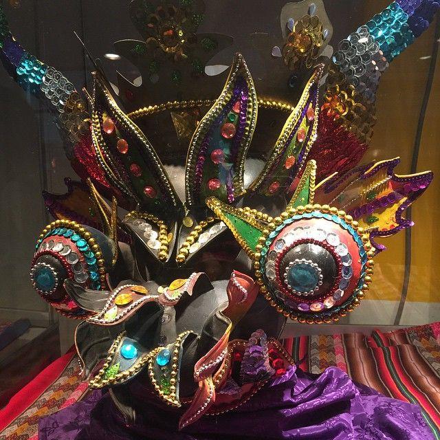 Máscara de La Diablada Puneña - Brisas del Titicaca - Lima - Perú