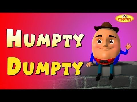 Kids Rhymes : Humpty Dumpty 3D Animation English Rhymes For Chil...