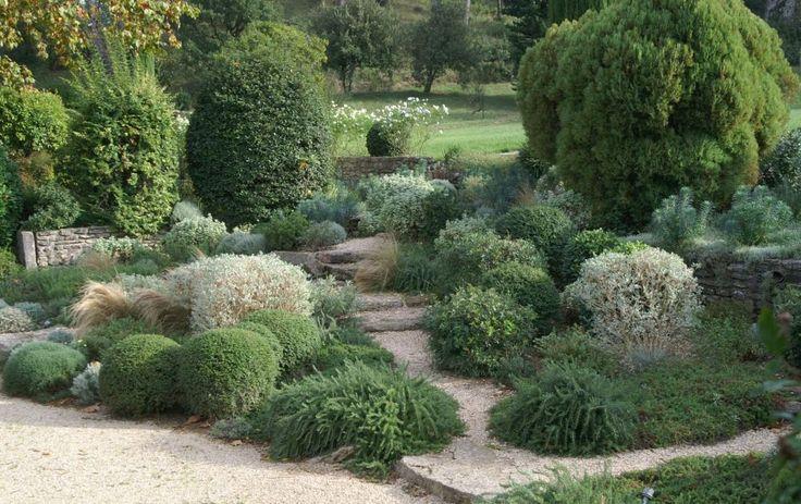 jardin de rocaille à Saint Rémy de Provence
