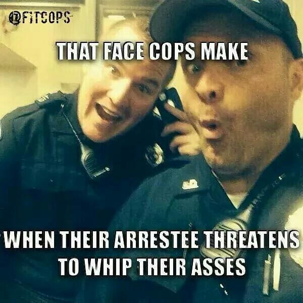 Law enforcement and police humor