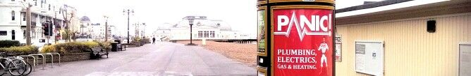 What a beautiful sight on the #Worthing promenade!