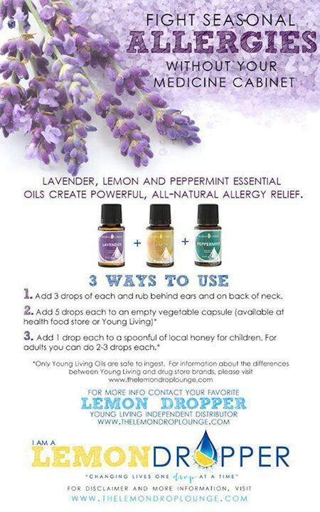 Oils for allergies