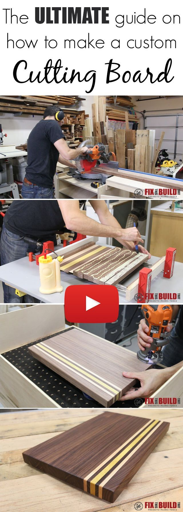 Make Your Own (Simple) Wooden Cutting Board
