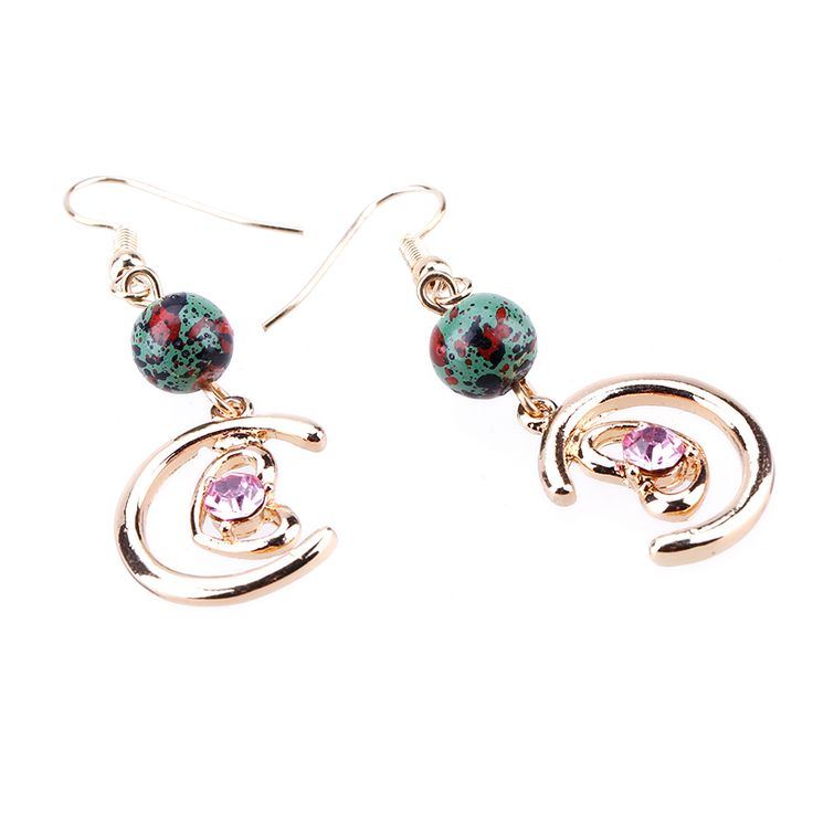 Find More Drop Earrings Information about 2017 Fashion Jewelry  Bohemian Multicolor Luxury Moon Earrings cabochon silver earring Birthday Gift Gemstone Drop Earrings,High Quality earring case,China earring part Suppliers, Cheap earring hook from Yiwu zenper accessories crafts co.,ltd  on Aliexpress.com