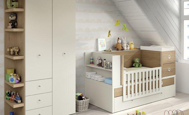 Cuna Kz 77 de Kazzano :: Mobel K6 . Para cuando tu bebe se haga mayor, puedas convertir su cuna en cama.
